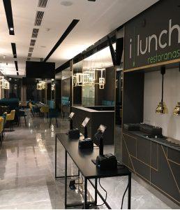 I lunch restoranas Top sofa gaminiai